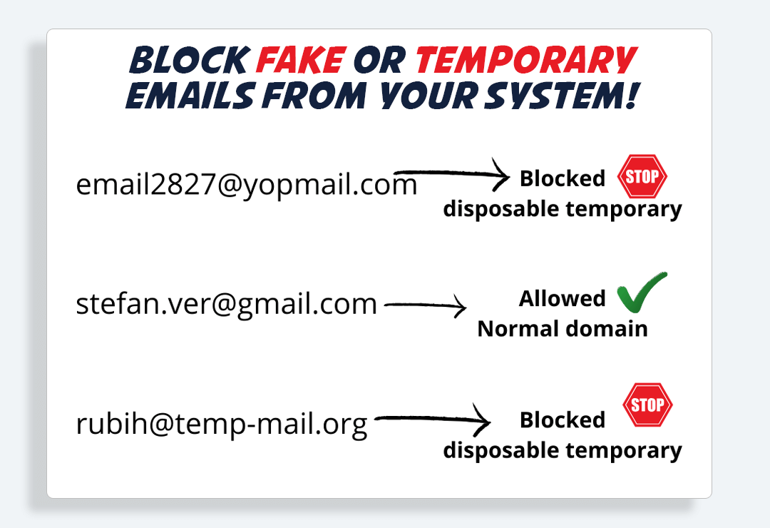 LeadPixo - Block Fake Emails